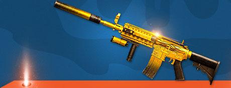 黄金M4A1-X
