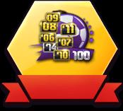 混合赛季球星卡(各赛季100人)x10