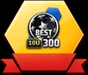 10U赛季BEST300球员卡x3