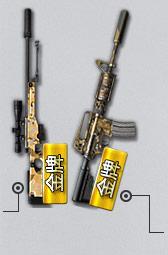 金牌AWM-S( 7天 )金牌M4A1-S( 7天 )