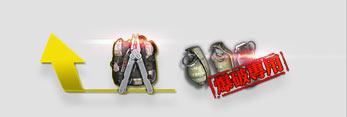 爆炸礼包(C4工具钳+手雷包)(6天)