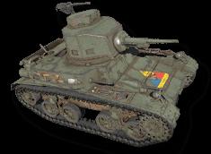 M2A4 轻型坦克(陆军第 1 装甲师)