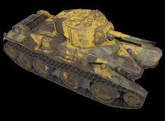 BT-5 1933型丛林迷彩
