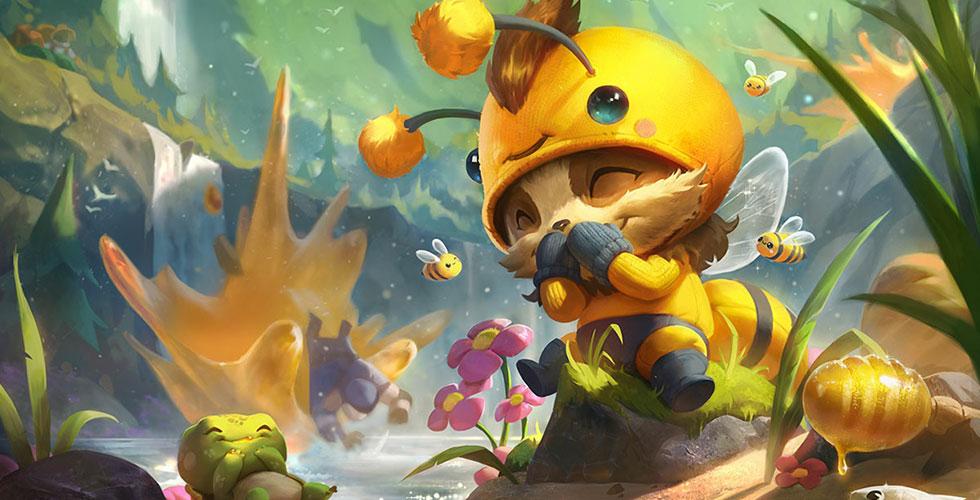 小蜜蜂 提莫
