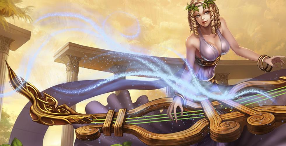 缪斯女神 娑娜